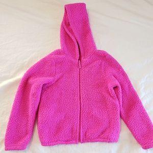*SOLD* Magenta Pink Girls Sweater Fleece Long